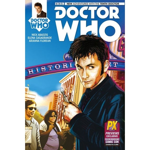 Doctor Who: The Tenth Doctor #1 Comic Book (SDCC Exclusive) - multi