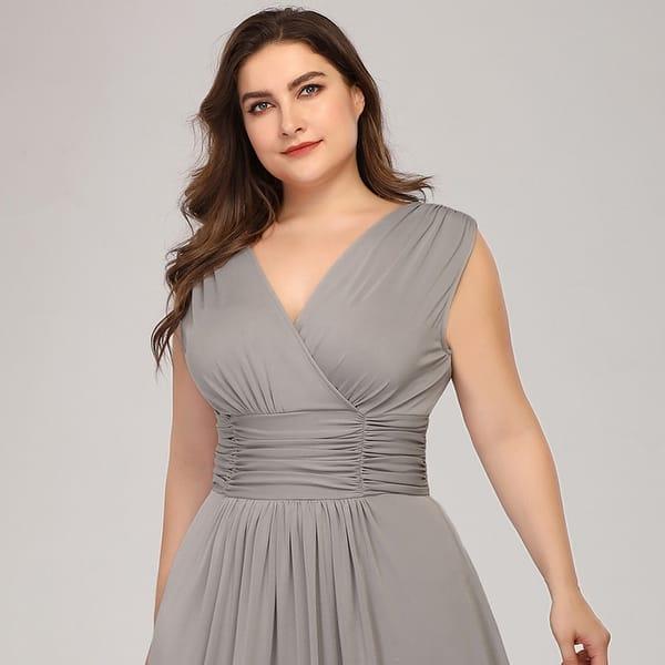 cheaper exquisite design top style Shop Ever-Pretty Womens Empire Waist Elegant Plus Size Long ...