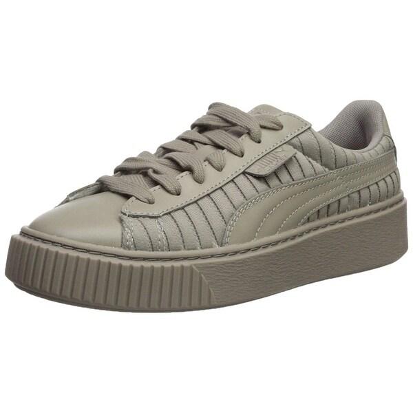 big sale 02d29 5381d Shop PUMA Women's Basket Platform En Pointe Wn Sneaker ...