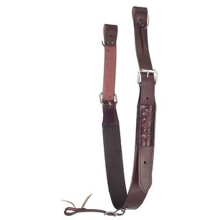 Tough-1 Cinch Complete Flank Set Leather Rolled Buckle Set 56-1572