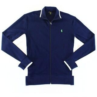 Polo Ralph Lauren NEW Blue Navy Mens Size XL Full-Zip Track Jacket