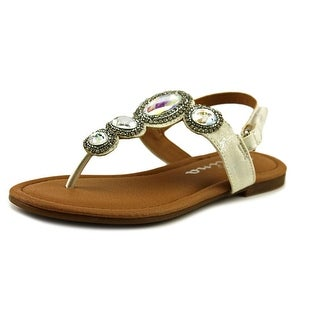 Nina Kellie Open-Toe Synthetic Slingback Sandal