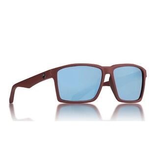 Dragon Alliance Method Matte Crystal Redwood with Sky Blue Ion Lens Sunglasses