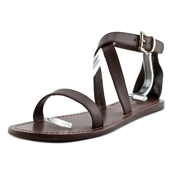 Gei Gei S13136 Open Toe Leather Gladiator Sandal