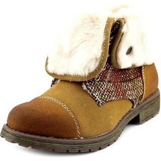 Roxy RG Tamarac Youth Round Toe Synthetic Tan Winter Boot