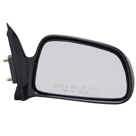 Pilot Automotive TYC 6530031 Black Passenger/ Driver Side Power Heated Replacement Mirror for Mitsubishi Galant