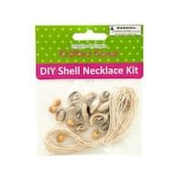 Kole Imports SC438-18 Diy Craft Shell Necklace Kit - Pack of 18