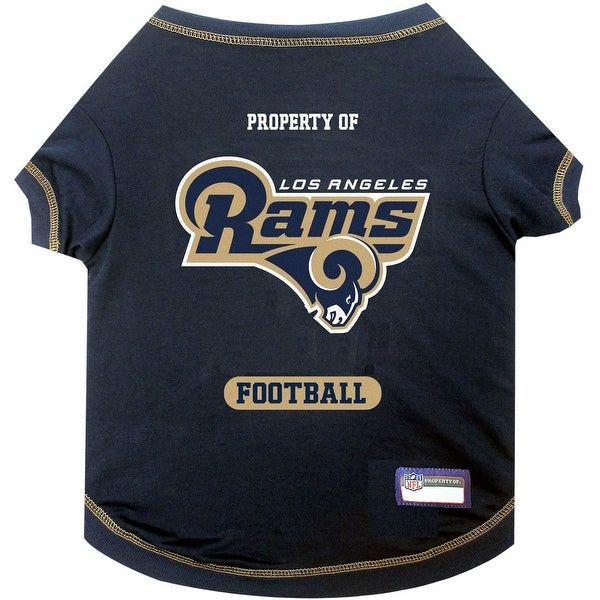 fd7ecd7b5fb Shop NFL Los Angeles Rams Tee Shirt - On Sale - Free Shipping On Orders  Over $45 - Overstock - 19991709