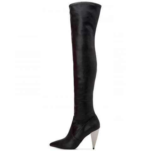 1aac3323910 BCBGeneration Womens Anela Pointed Toe Over Knee Riding Boots
