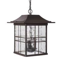 Craftmade Z7821 Dorset 3 Light Outdoor Pendant - 10.87 Inches Wide