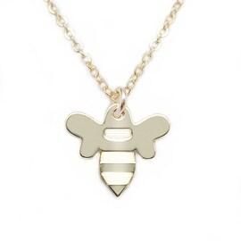 Julieta Jewelry Bee Charm Necklace
