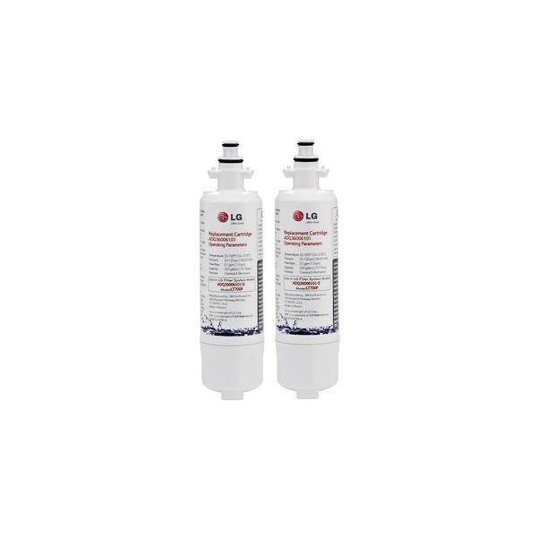 Replacement Water Filter for LG ADQ36006101 Refrigerator Water Filter (2 Pack)