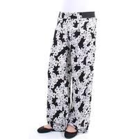 INC Womens White Lace  Printed Pants  Size: L