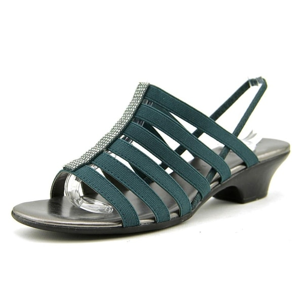 Karen Scott Stevee Women Stormy Teal Sandals