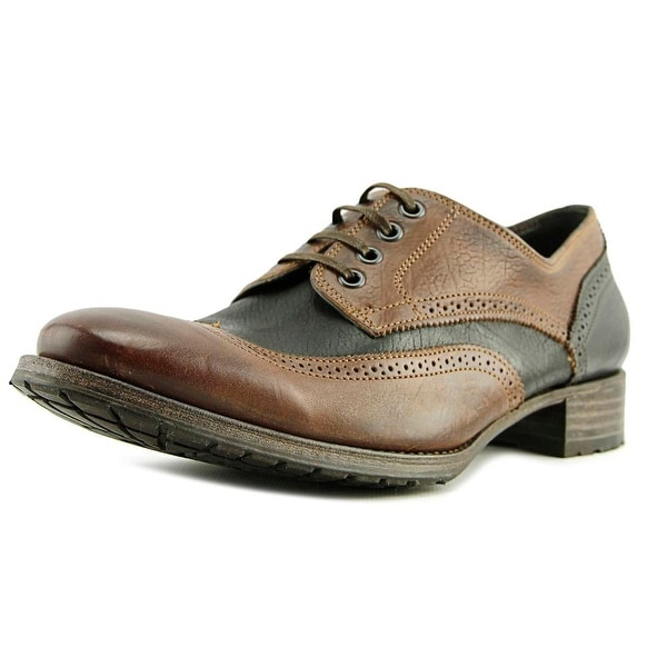 N.D.C. Made by Hand Kendal R Vachetta Round Toe Leather Oxford