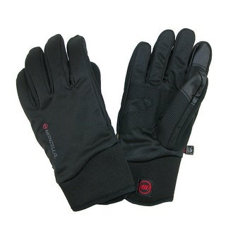 Manzella Men's All Elements 3.0 Touch Screen Waterproof Gloves - Black