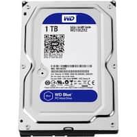 """""""WD WD10EZRZ WD Blue 1 TB 3.5-inch SATA 6 Gb/s 5400 RPM PC Hard Drive - SATA - 5400 - 64 MB Buffer - Blue"""""""