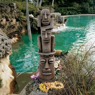 Design Toscano Tiki Gods Statue: Gods of the Three Pleasures