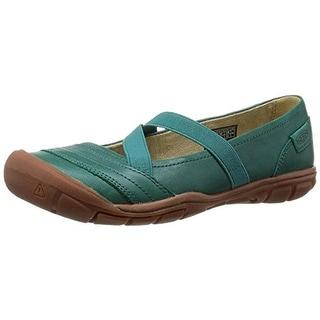 Keen Womens Rivington II Leather Slip On Mary Janes - 5 medium (b,m)