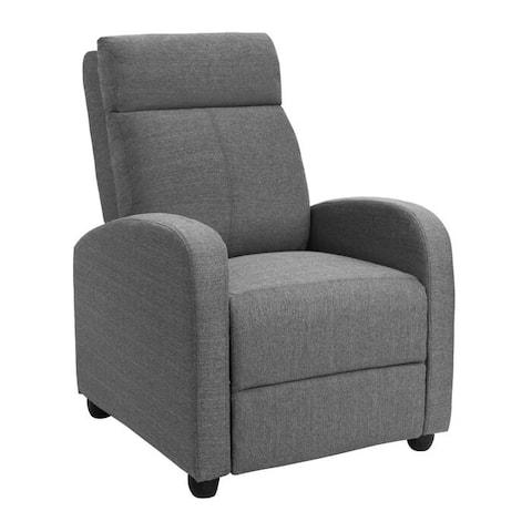 Homall Recliner Chair Fabric Single Living Room Sofa Recliner