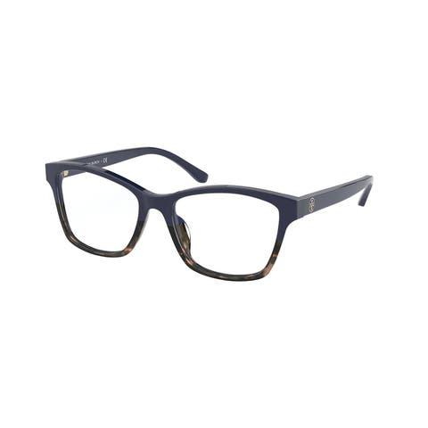 Tory Burch TY2110U 1826 51 Navy/tokyo Tortoise Woman Rectangle Eyeglasses