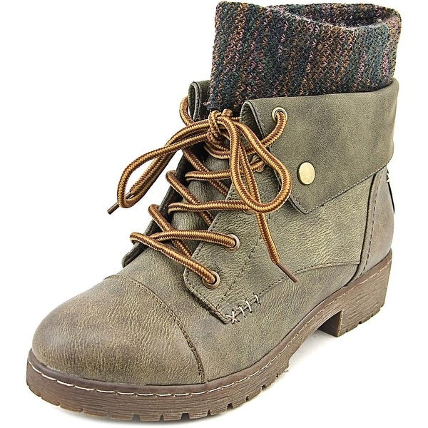 Coolway Bring It Women Round Toe Synthetic Ankle Boot