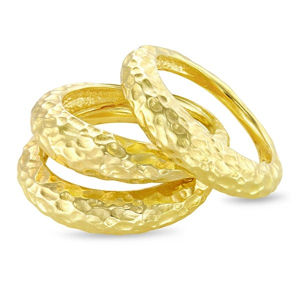 Forever Last 18 kt Gold Plated Women's Ring. Opens flyout.