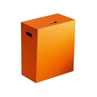 Nameeks 1537 Gedy Free Standing Laundry Basket with Side Storage
