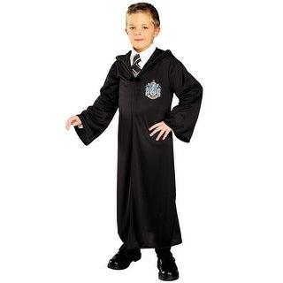 Rubies Slytherin Robe Child Costume - Black