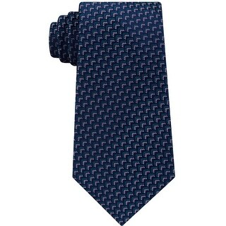 Link to Michael Kors Mens Geometric Self-Tied Necktie - One Size Similar Items in Ties