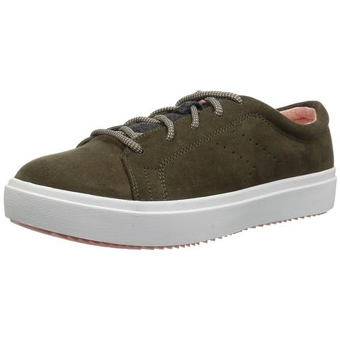 f87a462eeb2b Dr. Scholl s Womens wander lace Low Top Lace Up Fashion Sneakers