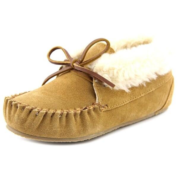 Minnetonka Lulu Moc Toe Leather Slipper