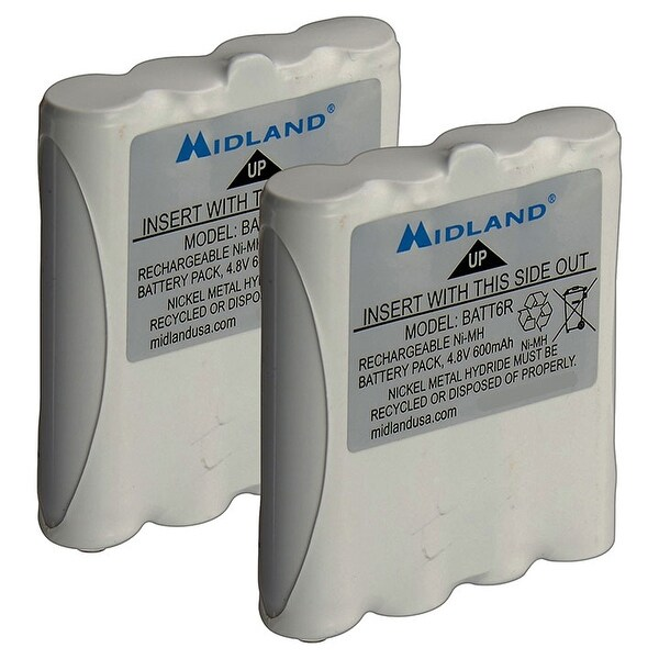 Midland Nickel Metal Hydride Battery Packs For Lxt Series Gmrs Radios