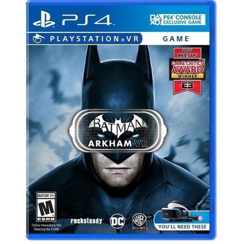 Warner Brothers - Ps4 Vr Batman: Arkham Vr
