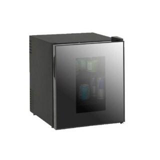 Avanti SBCA017G Black 1.7 CF Deluxe Glass Door Beverage Cooler