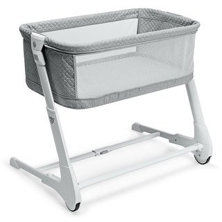 Link to Baby Height Adjustable Bassinet w/ Washable Mattress Similar Items in Bassinets & Cradles