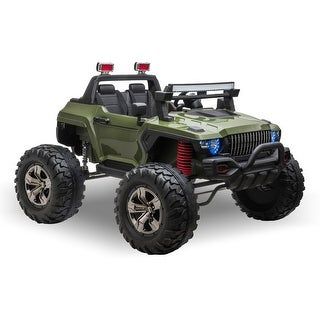 Link to Aosom Ride On Car Off Road Truck SUV 12 V Electric Battery Powered with Remote Control and MP3, Adjustable Speed Similar Items in Bicycles, Ride-On Toys & Scooters
