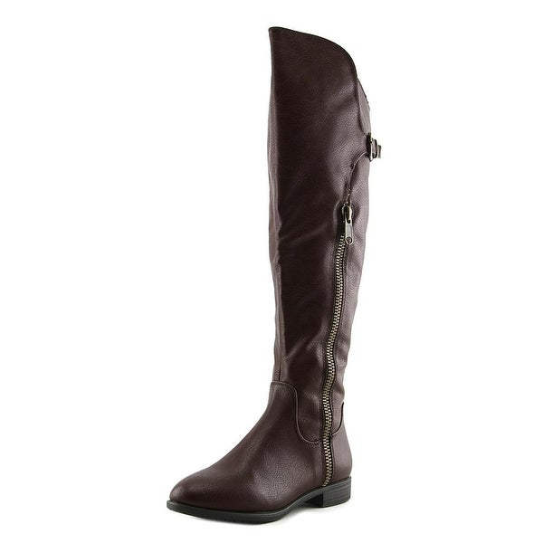 Rialto First Row Wide Calf Women Mocha Smooth Boots