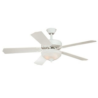 """Vaxcel Lighting F0025 Essentia 52"""" 5 Blade Indoor Ceiling Fan - Light Kit and Blades Included"""