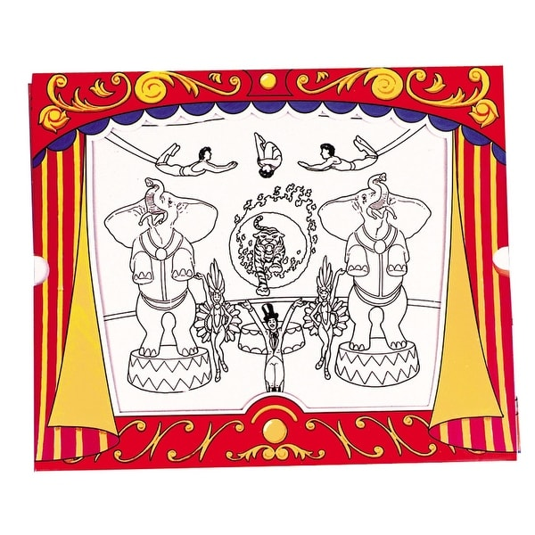 Circus Magic Picture Frame Halloween Décor