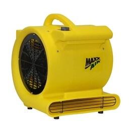 MaxxAir HVCF 4000 High Velocity Carpet Blower/Dryer, 1 HP, Yellow