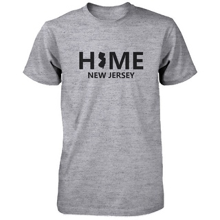 Home NY State Grey Men's T-Shirt US New York Hometown Cotton Shirt