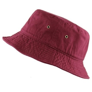 Bucket Hat Cotton Packable Summer Travel