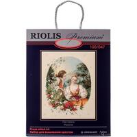 "Pastoral Counted Cross Stitch Kit-15.75""X19.75"" 14 Count"