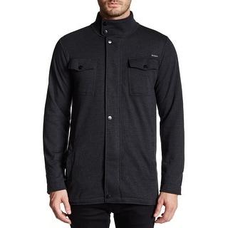 EZEKIEL NEW Black Mens Size XL Full Zip Mock Neck Multi Pocket Jacket