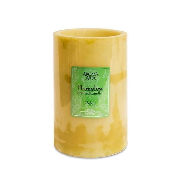 Aroma Aria Flameless Candle, Melon
