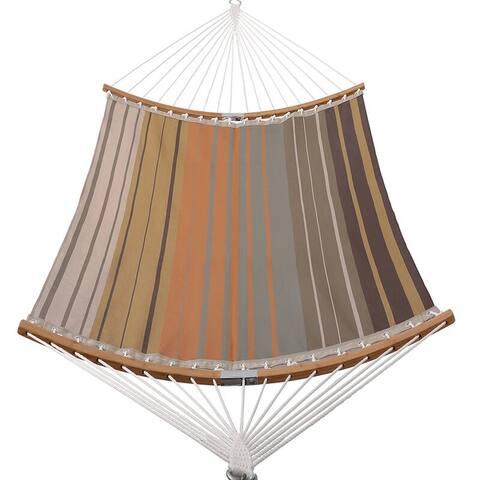 11 Ft. Textilene Hammock with Folding Spreader Bar