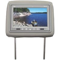 UEI T921PLGR 9 in. Dual Gray Headrest Tft Lcd Monitors with Remote