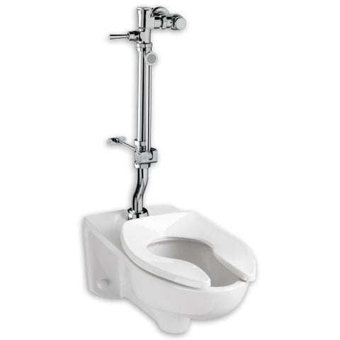 """American Standard 6047.821 1.28 Exposed Toilet Flush Valve for 1-1/2"""" Top Spud Installation - CHROME - N/A"""