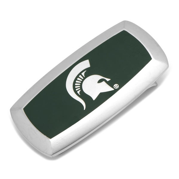 Michigan State Spartans Cushion Money Clip